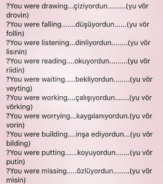 Learn English Grammar, English Lessons, English Words, Find A Tutor, Turkish Lessons, Learn Turkish Language, Language Lessons, Learning Spanish, Galaxy Wallpaper