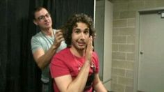 Josh Groban..don't touch those curls!!!