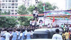 Dahi Handi Amazing celebration at Mumbai