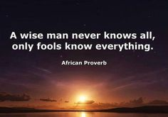 ~ African Proverb