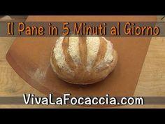 Pane Artigianale Fatto in casa in 5 Minuti - VivaLaFocaccia