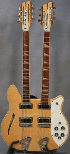 Double neck Rickenbacker