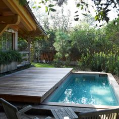 1000 images about piscines on pinterest petite piscine - Mini pool terrasse ...