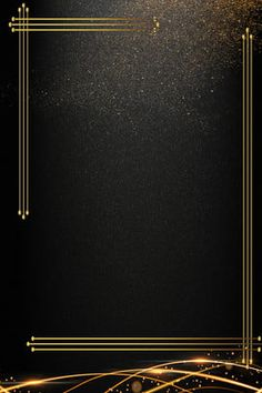 black gold business invitation invitation background template Gold And Black Background, Black Background Wallpaper, Poster Background Design, Light Background Images, Creative Background, Lights Background, Background Templates, Black Backgrounds, Colorful Backgrounds