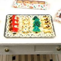Dollhouse Miniature Christmas Cookies 2 - Christmas - DollHouse Miniature Food