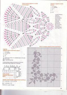 Журнал: Elena Crochet D'Art №33 (вязание салфеток, крючок) - Вяжем сети, спицы и крючок - ТВОРЧЕСТВО РУК - Каталог статей - ЛИНИИ ЖИЗНИ Crochet Doily Diagram, Crochet Borders, Crochet Mandala, Crochet Doilies, Art 33, Magic Hands, Picasa Web Albums, Doily Patterns, Cross Stitch