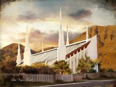 Las Vegas Temple by Brent Borup This is where I first went through the temple!!