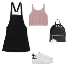 """""""Untitled #709"""" by jessi-cabrera-1 on Polyvore featuring Friend of Mine, adidas and BP."""