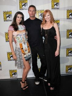 Marg Helgenberger, Josh Holloway, and Meghan Ory at Intelligence (2014)