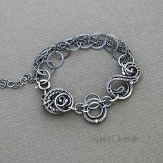 Eve - Silver bracelet