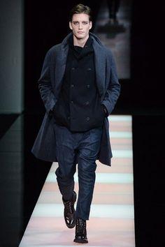 See the Giorgio Armani menswear autumn/winter 2015 collection