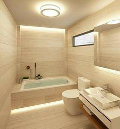 Nel secondo bagno, la zona antibagno ospita lo scaldaacqua e la ...