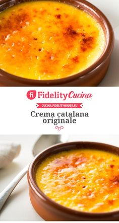 New Easy Cake : Crema catalana originale, Bakery Recipes, My Recipes, Italian Recipes, Dessert Recipes, Cooking Recipes, Favorite Recipes, Sweet Light, Creme Caramel, Spanish Dishes