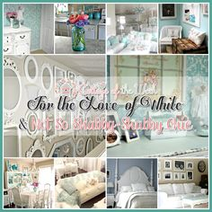 It's that time again…get comfy…pour yourself a cup of something yummy and just chill out for a little bit as we take a little visit to not 1 but 2 very shabby…oh so chic cottages! The spotlight is on a Mother and Daughter who share a love for everything cottage shabby chic! For the Love …