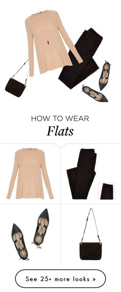 """""""Cashmere Sweater"""" by jaycee0220 on Polyvore featuring Proenza Schouler, The Row, Loeffler Randall and Natalie B"""
