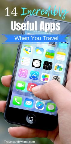 Incredibly Useful Apps When You Travel Here are our must-have apps whenever we travel, whether domestically or internationally.Here are our must-have apps whenever we travel, whether domestically or internationally. Europe Travel Tips, Travel Packing, Budget Travel, Us Travel, Travel Destinations, Travel Hacks, Travel Rewards, Travelling Tips, Travel Backpack