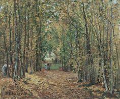 Camille Pissarro - Allée dans le parc de Marly - Καμίλ Πισαρό - Βικιπαίδεια
