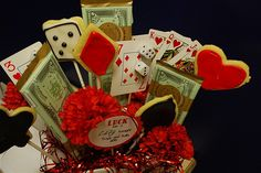 Casino Party  Guys and Dolls by yourhomebasedmom, via Flickr