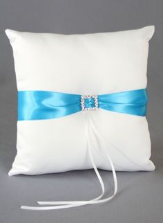 Glamour Ring Pillow, Customize me with over 35 different color ribbons