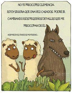 Cuidado con los lobos vestidos de ovejas