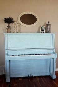 How to paint piano