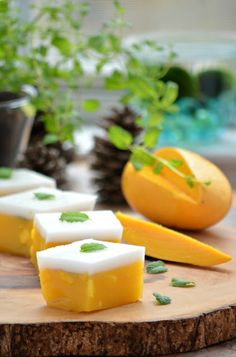 Love is in my tummy: Asian Mango and Coconut 'Jelly'