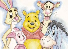 Winnie the Pooh characters represent mental disorders. Tiger has ADHD, Piglet has anxiety, Rabbit has OCD, Eore has depression, and Pooh is an addict. Mind= BLOWN!