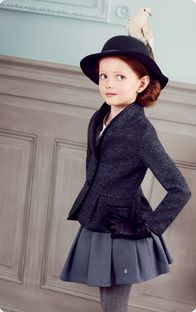 {Little socialites stand for something and wear Dior} www.dior.com www.socialiteauctions.com
