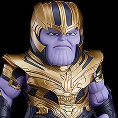 "A Nendoroid of Thanos from ""Avengers: Endgame""! From ""Avengers: Endgame"" comes a Nendoroid of Thanos! The Nendoroid is larger than standard Nendoroids and features full articulation, making it perfect for recreating action-packed scenes with t. Gritted Teeth, Chibi Marvel, Avengers Wallpaper, Captain America, Ali, Batman, Superhero, Fictional Characters, Collection"