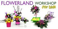 FlowerLand Workshop Teaches Kids Floral Design