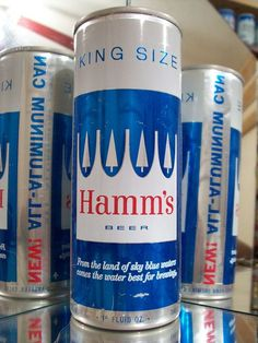 Hamm's - Remember my friend's grandmother drinking this.  Had a few while tailgating at a Notre Dame game