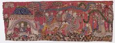Tapestry from Strasbourg, about 1420