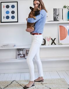 Soho Skinny Jeans Boden - Need this outfit and the dog.