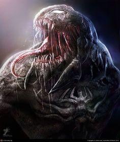 Venom by Zahid Raza Khan | 2D | CGSociety