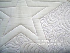 TopAnchor Quilting Tools offers star machine quilting templates and and many more designs. Click here to view more of our quilting patterns!
