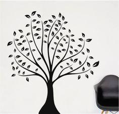 Prachtige boom als muursticker! www.hippemuurstickers.nl