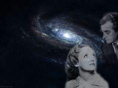 "wallpaper ""Claude Rains & Bette Davis: friendship everlasting like the Universe"""