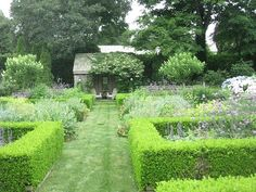 """Ina Garten's garden. She does a different """"theme"""" every year and I like this one."""