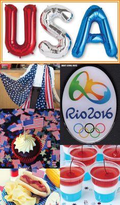 DIY ideas for an Olympics party - Olympics food, Olympics gear, and Olympics…