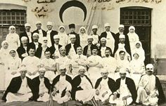 he voluntary Turkish nurses, having taken courses offered by The Turkish Red Crescent Society, are shown here with the veterans Combat Medic, Course Offering, Martini, Disney Characters, Fictional Characters, Photo Wall, Flag, Medical, History