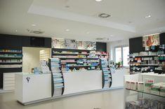 Farmacia Sansanelli - AGELL Arredamento Farmacie e Ottici Smoke Shops, Liquor Cabinet, Storage, Furniture, Home Decor, Pharmacy, Purse Storage, Decoration Home, Room Decor