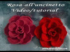 Crochet Flowers Pattern Free Thread Ideas For 2019 Crochet Puff Flower, Crochet Flower Tutorial, Crochet Flower Patterns, Crochet Flowers, Crochet Gifts, Crochet Yarn, Crochet For Beginners Blanket, Unique Crochet, Crochet Videos