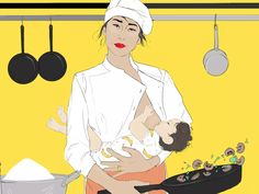 How paid parental leave could solve the culinary gender gap.