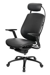 Best Price Guarantee from Office Chairs Outlet on the sophisticated executive ONE Chair in leather by @theOffce #stylemadeaffordable