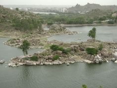 Durgam Cheruvu is a freshwater lake located in Rangareddy district, Telangana, India. The lake, which is spread over 83 acres, is located near the city of Hyderabad.