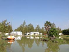 Plan d'eau vue sur le camping mai 2013