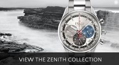 Zenith Watches at Berry's Jewellers