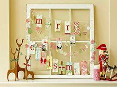 DIY Christmas Decorations Ideas Window