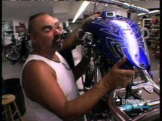 "Custom ""Bad Guys"" Themed Chopper by OCC - YouTube"