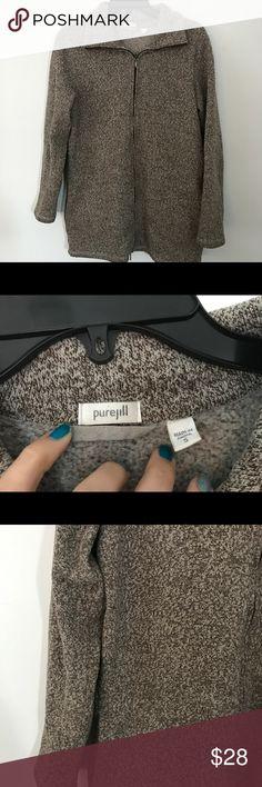Pure Jill knit jacket S GUC J.Jill Thin , soft jacket. Perfect for fall and layering. Smoke and pet free home. Bundle discount 20% J. Jill Jackets & Coats